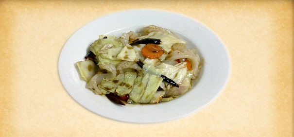 Tian-Ran-Vegetarian-restaurant-combination-stir-fried-seasonal-vegetables