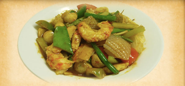 Tian-Ran-Vegetarian-restaurant-curry-seafood-combination