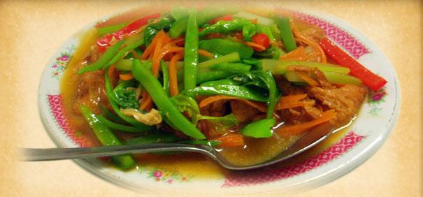 Tian-Ran-Vegetarian-restaurant-mixed-bean-vegetables