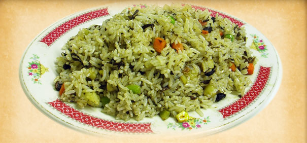 Tian-Ran-Vegetarian-restaurant-olive-fried-rice