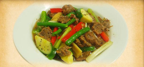 Tian-Ran-vegetarian-restaurant-Beef-Pork