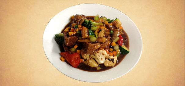 Tianran-vegetarian-restaurant-Fried-Beancurd-In-Black-Bean-Sauce