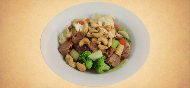 Tianran-vegetarian-restaurant-beef-cashew-nuts