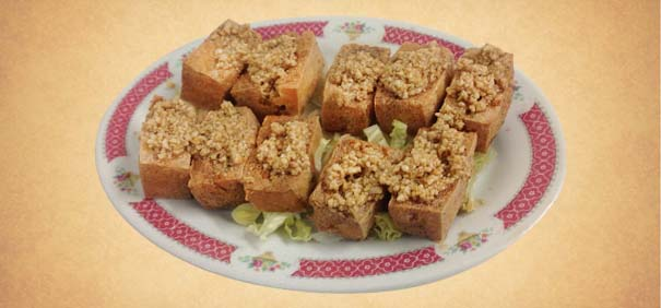 Tianran-vegetarian-restaurant-crispy-fried-beandurd-special-sauce