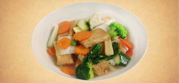 Tianran-vegetarian-restaurant-fried-tofu-veg