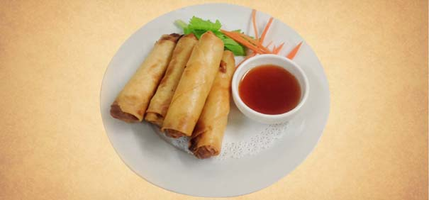 Tianran-vegetarian-restaurant-spring-roll